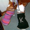 手編みのセーター♪